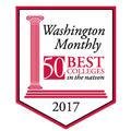 Logo for Washington Monthly Magazine