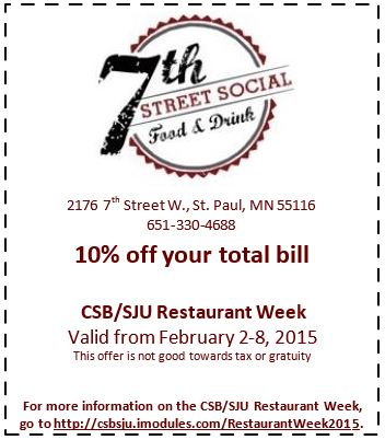 7th Street Social Coupon