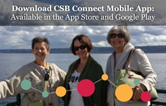 Download CSB Connect Mobile App: Available in the App Store and Google Play