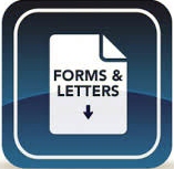 Forms and Letters Request