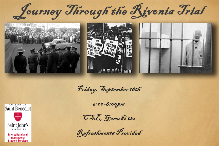 Journey Through the Rivonia Trial