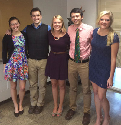 The 2014 Orientation Coordinators