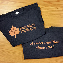 Saint John's Maple Syrup tshirts