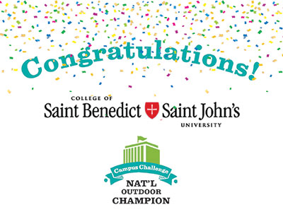 Congrats! CSB/SJU National Outdoor Champions!