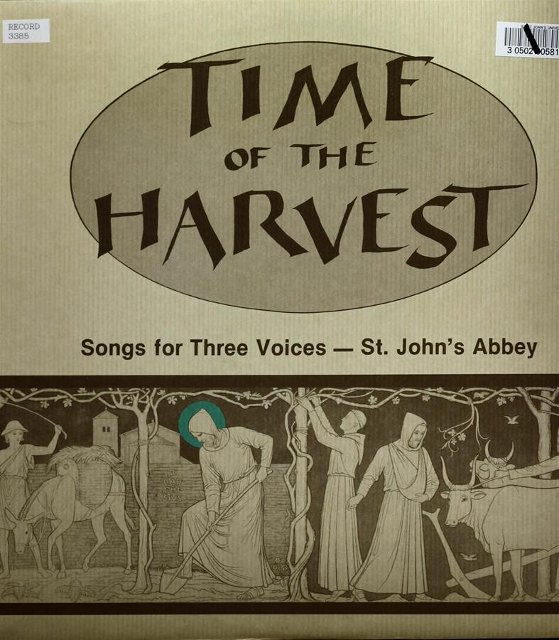 Time of the Harvest Record page 1