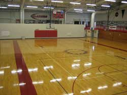 Facilities csb sju for Cheapest way to make a basketball court