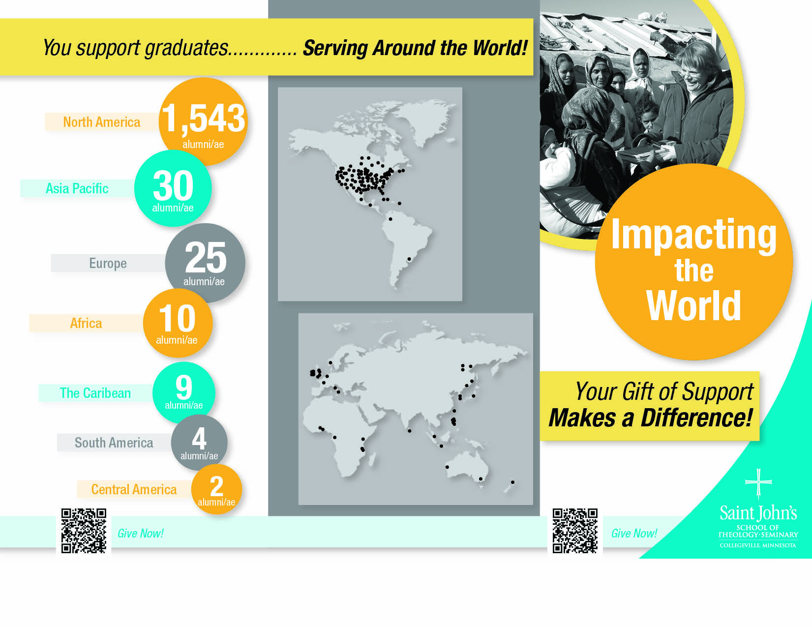 Impacting the world