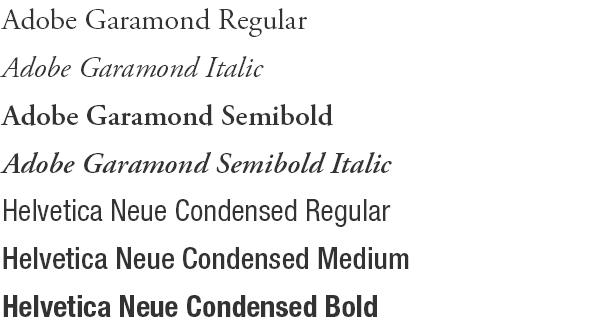 Brand Guide: Typography – CSB/SJU