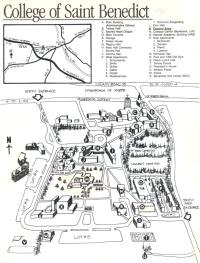 Aerial Photos & Campus Maps – CSB/SJU