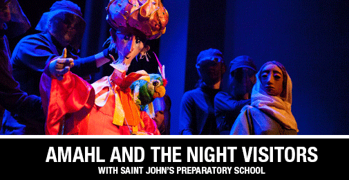 See and Hear the Story of Christmas in a Whole New Way - Amahl and the Night Visitors
