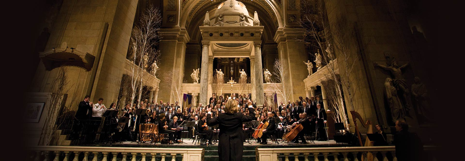Tickets for the annual christmas concerts at sju and the basilica of saint mary on sale