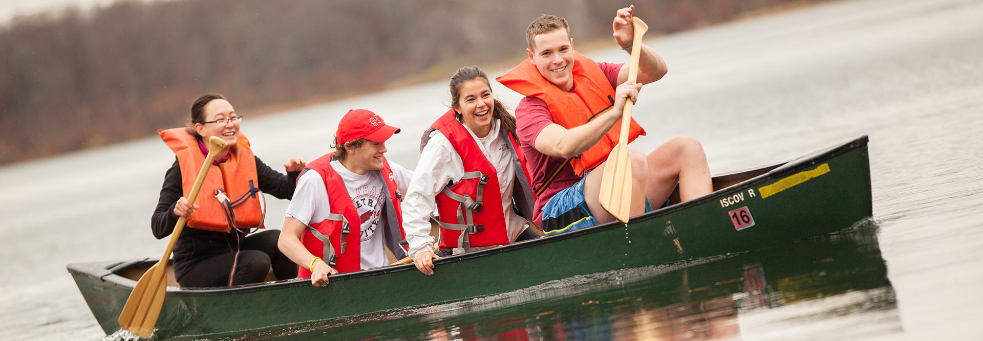 Explore the outdoors at CSB/SJU
