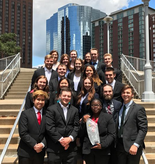 CSB/SJU Enactus team places in top 16 in nation