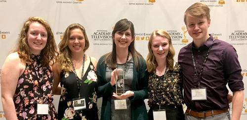 ETL wins second NATAS – Upper Midwest Regional Student Production Award