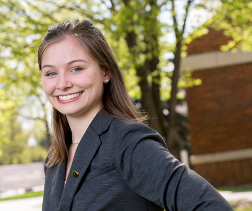 Paige Merwin heads to Taiwan with Fulbright program