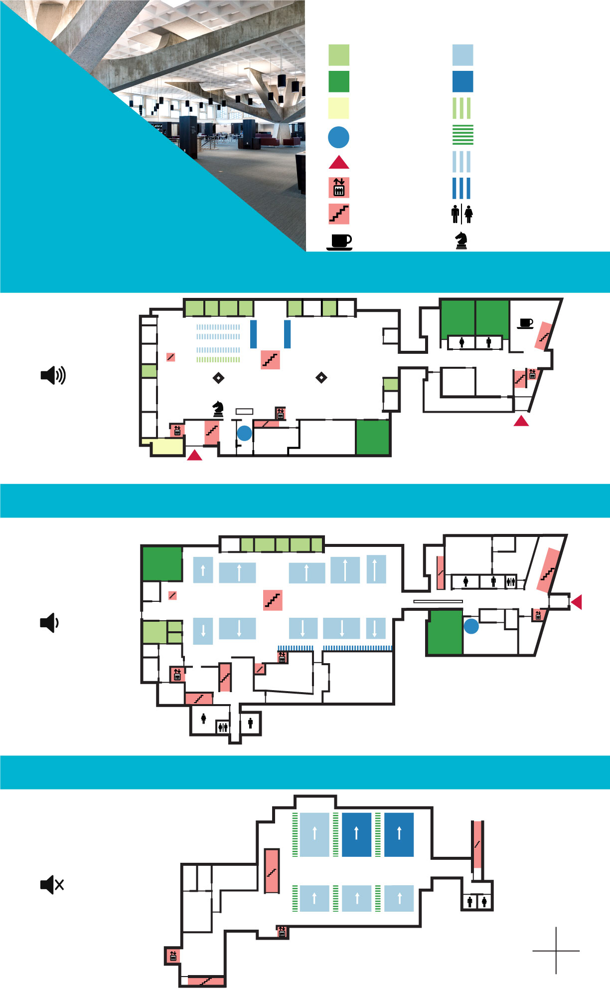 Map of Alcuin Library