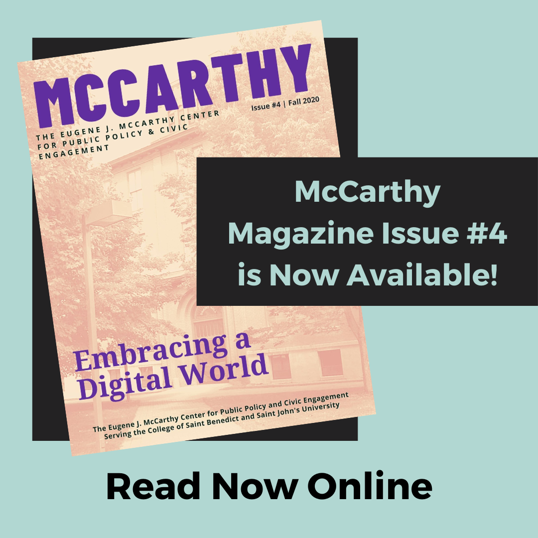 McCarthy Magazine is Now Available
