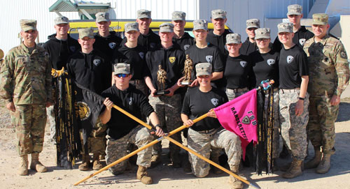 Fighting Saints Battalion ROTC teams win titles at Ranger Challenge