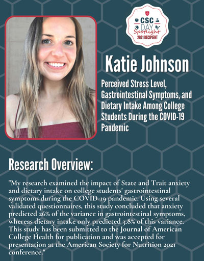 Katie Johnson, Nutrition Major Student