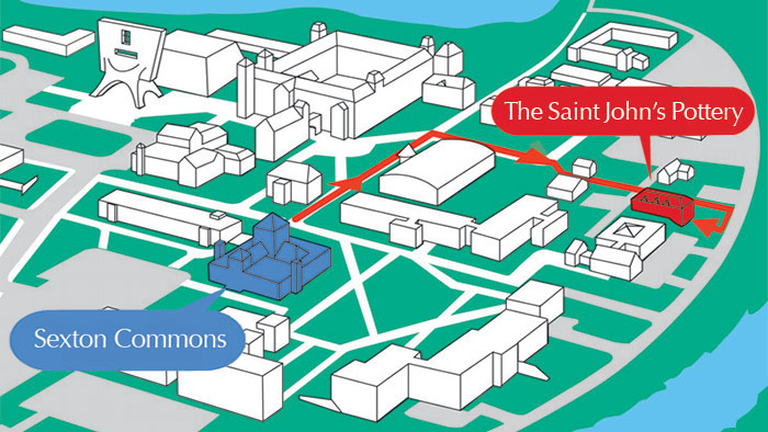 St Johns Campus Map.Campus Map And Directions Csb Sju