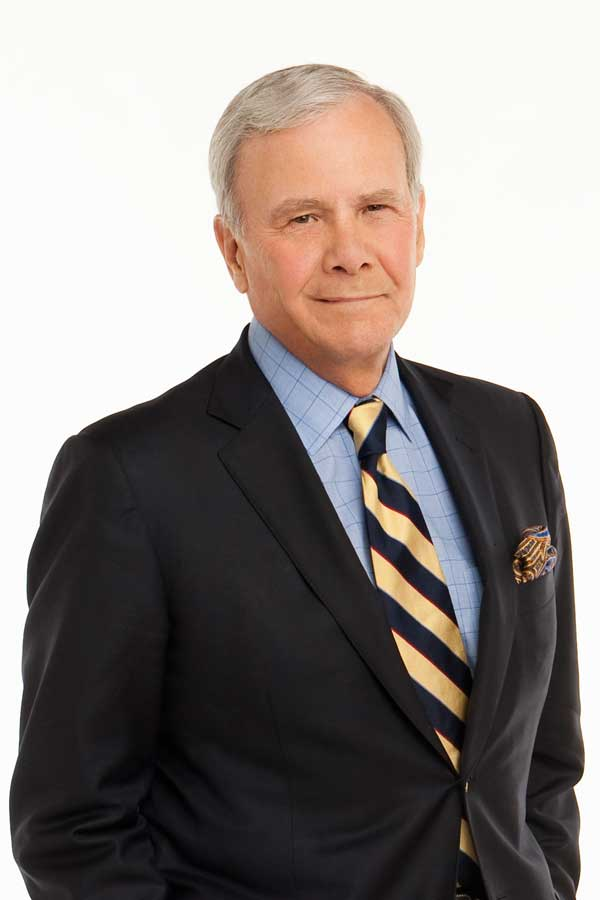 Tom Brokaw, NBC News television journalist and author, will deliver the sixth annual Eugene J. McCarthy Lecture.