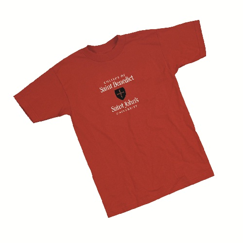 Spread the Red free referal CSB/SJU T-shirt
