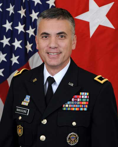 Photo of Lt. Gen. Paul Nakasone '86