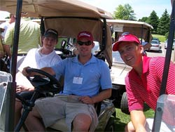 The Annual Saint John's Baseball Alumni Golf Classic drew more than 60 people to the Deer Run Golf Club in Victoria, Minnesota
