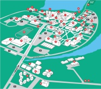 St Johns Campus Map.Aerial Photos Campus Maps Csb Sju