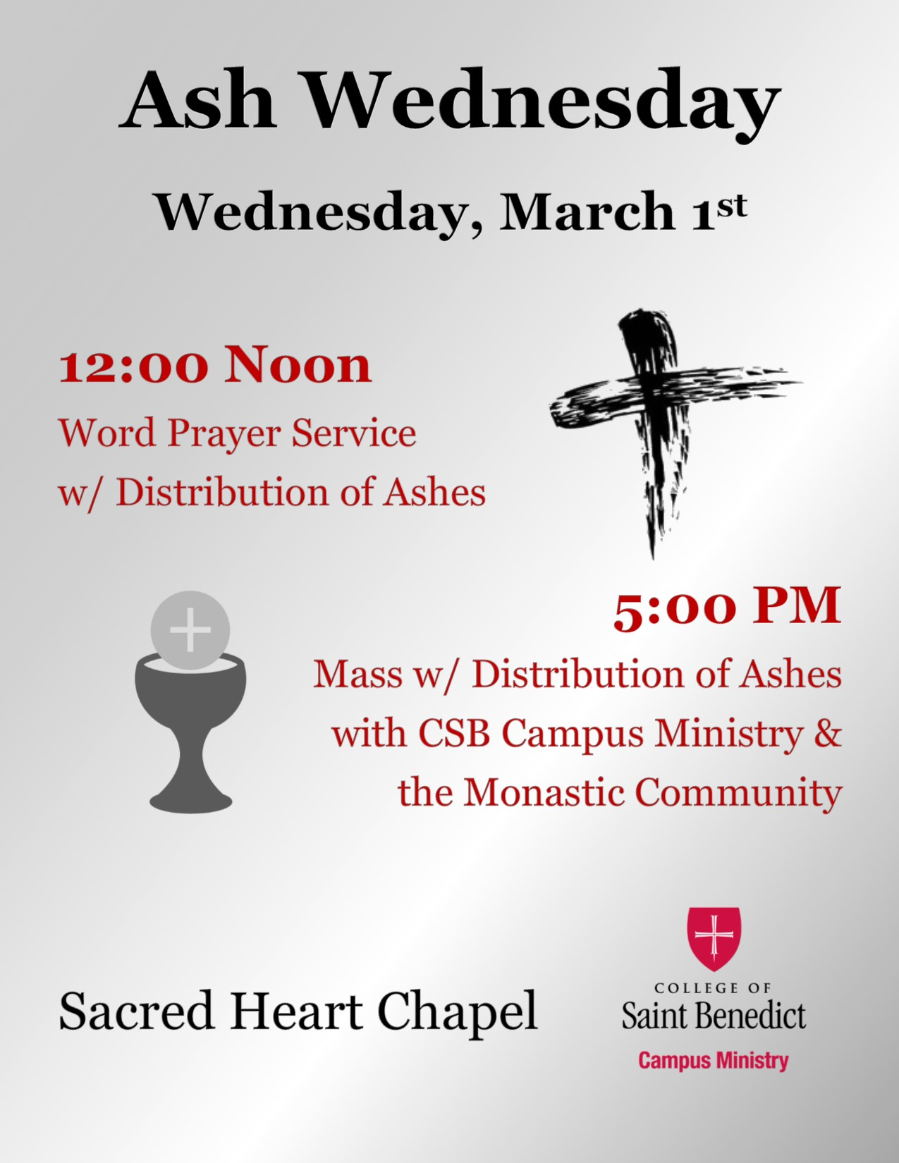 3.1 Ash Wednesday Info Flyer