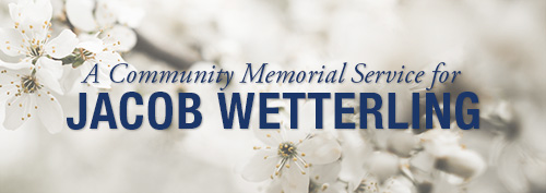 Community memorial service scheduled for Jacob Wetterling at CSB