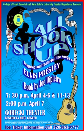 poster for All Shook Up