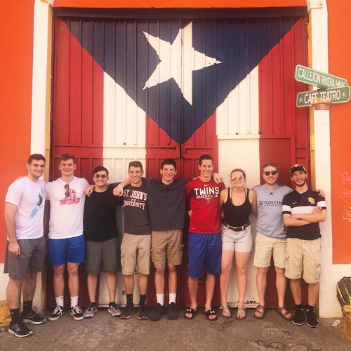 students in Puerto Rico